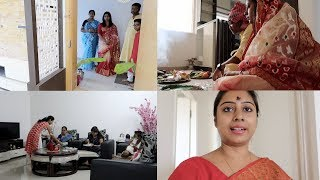 indian vlogger soumali grihapravesh in my new house