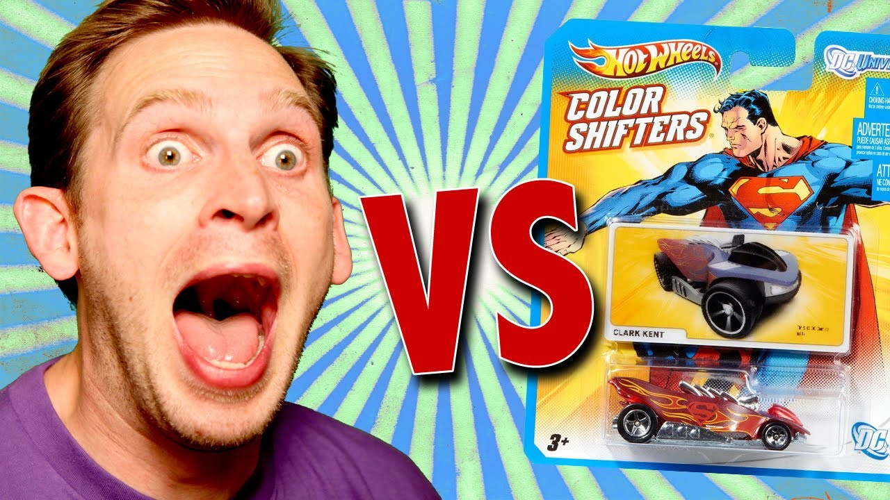 how to make color shifters hot wheels change color