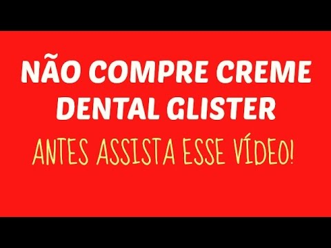 Amway 2016 Glister Creme Dental Demonstracao Glister Creme Dental