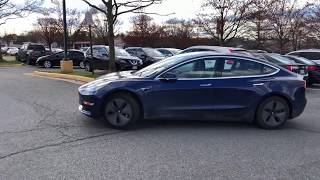 Tesla Enhanced Smart Summon   Pickup at restaurant entrance