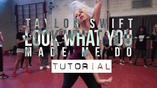 Look What You Made Me Do | TUTORIAL | Kayla Janssen Choreography