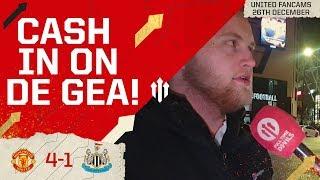 MASON IS UNDROPPABLE! MAN UTD 4 NEWCASTLE 1 Ryan and David Fancams