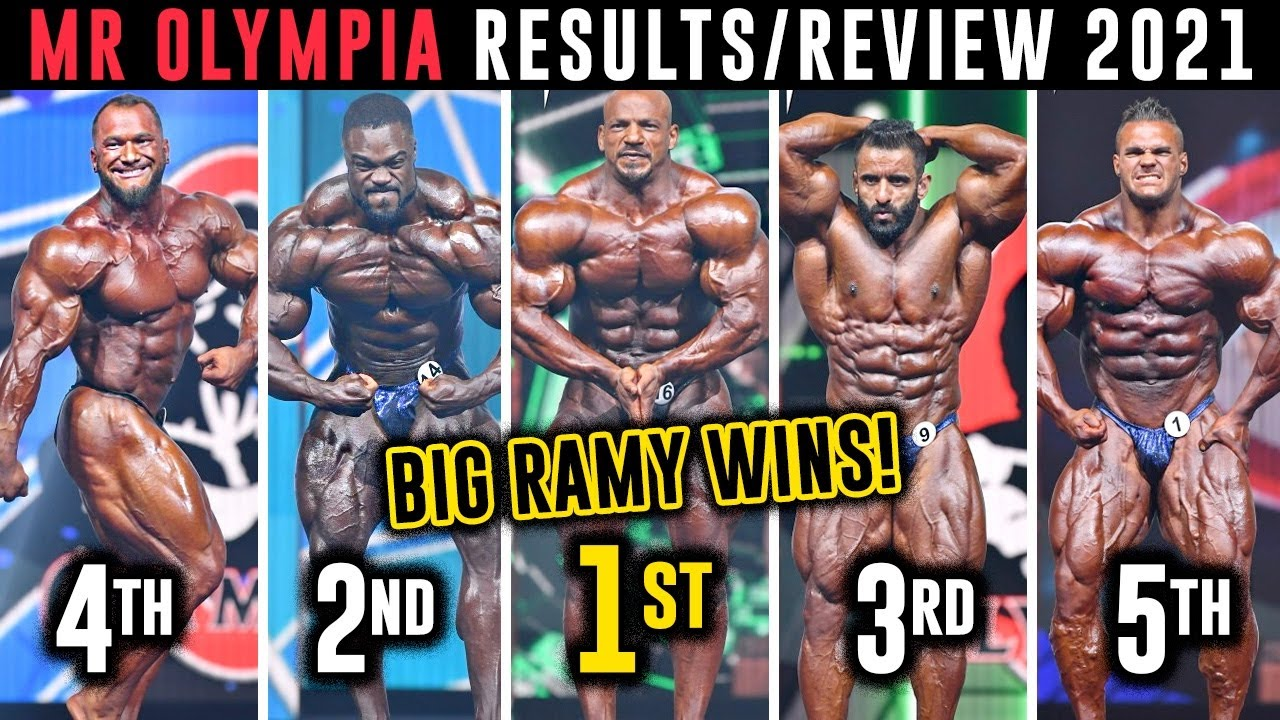 2021 Mr. Olympia Results: Big Ramy Wins 2nd Title in Dramatic ...