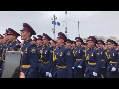 После Парада Победы | Кадетский корпус Следственного комитета РФ имени Александра Невского