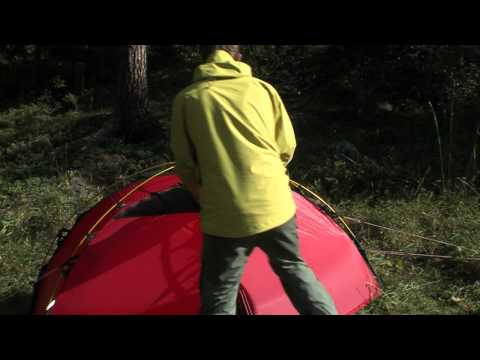 Hilleberg Soulo - Pitching instruction