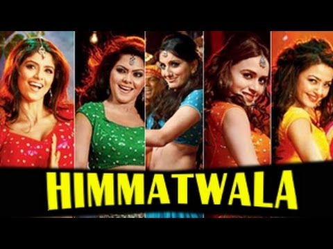 Himmatwala's HOT ITEM song with 5 item girls