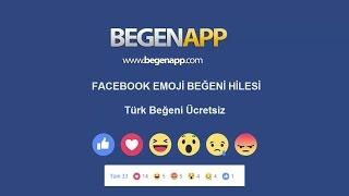 BegenApp Facebook Emojili Beğeni Hilesi 2017