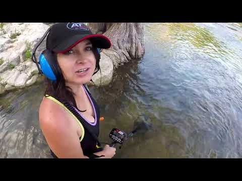 Metal Detecting River Adventure...Ring, Coins & More! #45