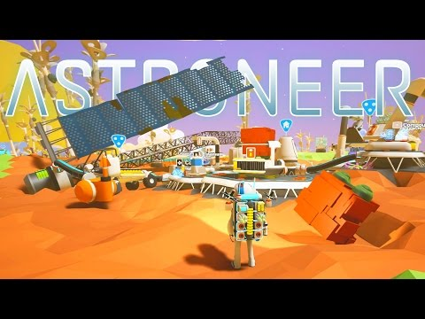 Astroneer - Ep. 6 - Giant Solar Panel and Planet Exploration! - Let's Play Astroneer Gameplay