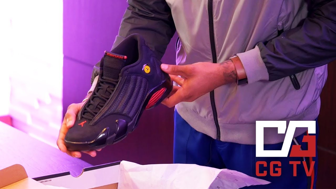 sports shoes a0a3d 3891c CGTV Episode 6: Unboxing the Air Jordan Retro 14 'Last Shot'