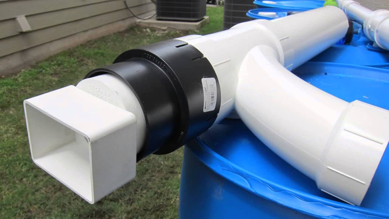 Rainwater Collection Installation Youtube