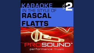 My Wish (Karaoke Instrumental Track) (In the style of Rascal Flatts)