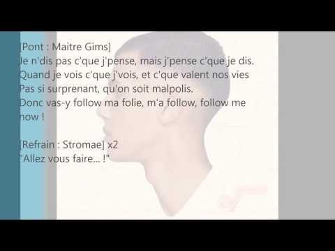 Stromae feat. Maître Gims & Orelsan - AVF (Lyrics/Paroles)