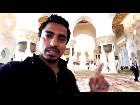 Abu Dhabi Sheikh Zayed Grand Mosque | Asia Biggest Mosque | Must Watch