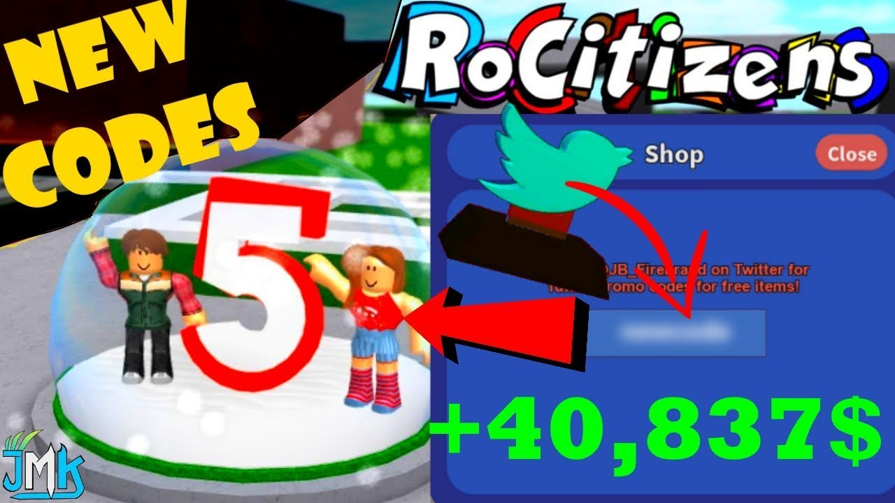 Roblox Rocitizens Money Codes 2018