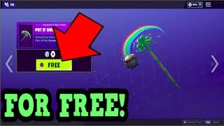"COMMENT À GET POT O"" GOLD PICKAXE GRATUIT! (Fortnite Old Pickaxe)"