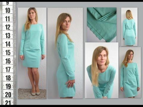 Шью сама трикотажные платья