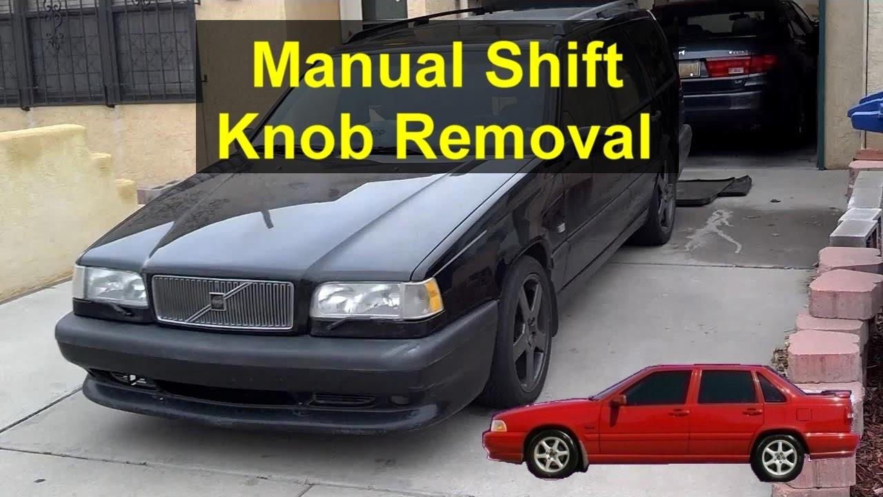 manual shift knob removal volvo 850 s70 v70 p80 etc votd rh youtube com 1997 Volvo 850 Vacuum Line Diagram Volvo 850 Fuel Pump Relay Location