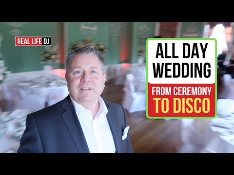 Wedding DJ Gig vLog: How I DJ Weddings WATCH THIS…