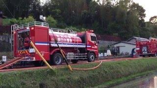 岡崎市消防本部火災現場でナイトスキャンチーフを使う!