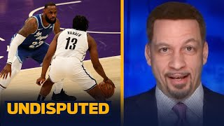 Brooklyn is a problem, LeBron & Lakers found that out last night - Broussard | NBA | UNDISPUTED