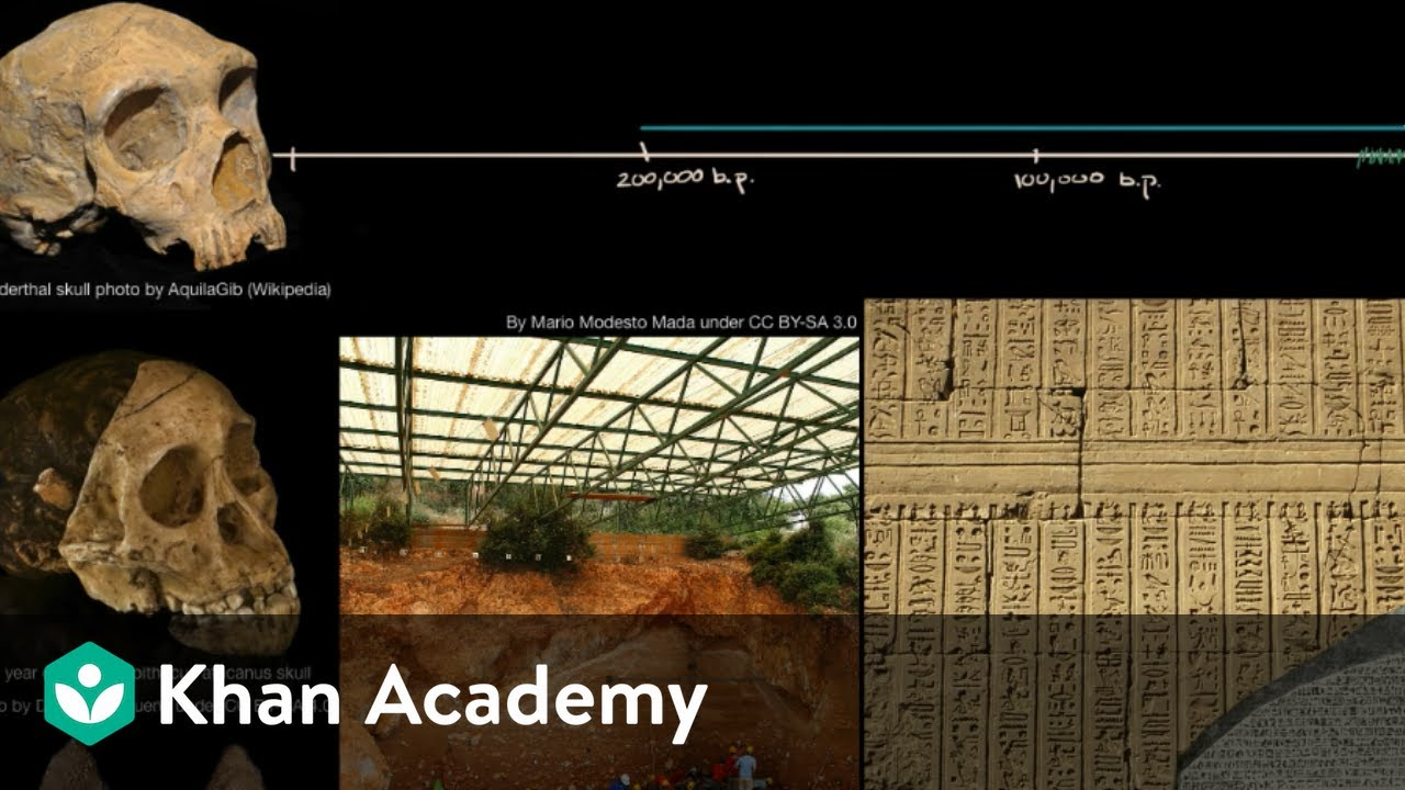 History And Prehistory Video Khan Academy