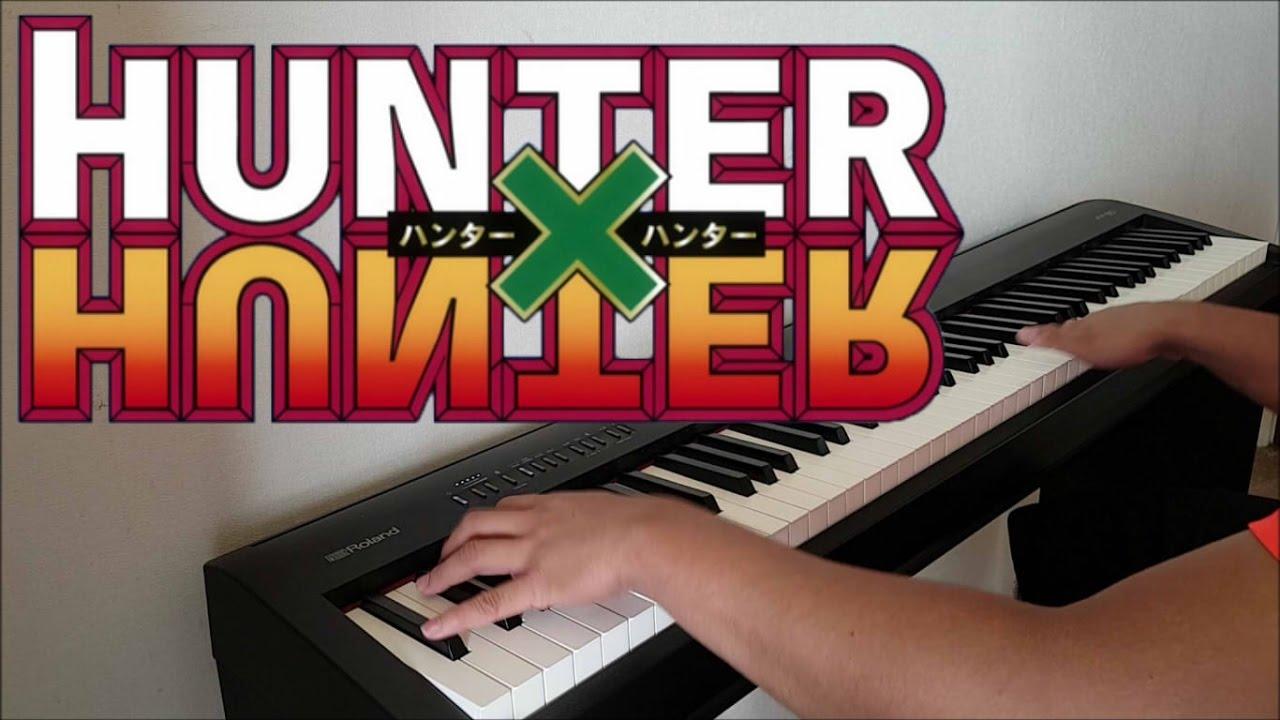 Hunter X Hunter 2011 Opening Departure Piano W Lyrics Youtube