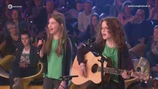 Carlotta en Lilly - Ik Blijf Bij Jou | Finale auditie Junior Songfestival 2015