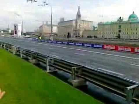 Ferrari F1 near Kremlin