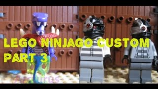 Lego ninjago custom #3 +custom kai and zane and sword 2016