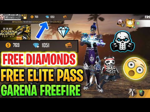How To Get Free Diamonds 💎💎💎 In Garena Free Fire 😲 || Upgrade Elite Pass For Free 🔥🔥🔥