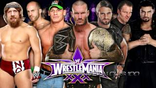 WWE Wrestlemania 30 (John Cena vs. Bray Wyatt) 2nd Theme Song -