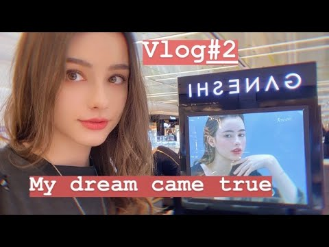 VLOG#2❤️ MY DAILY LIFE IN SEOUL!☀️ My dream came true!// Fac