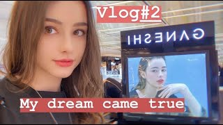 VLOG#2❤️ MY DAILY LIFE IN SEOUL!☀️ My dream came true!// Facial treatment//day with Elina(WITH SUBS)