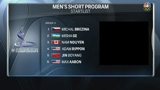 2016 Worlds - Men SP Group 4 NBCSN