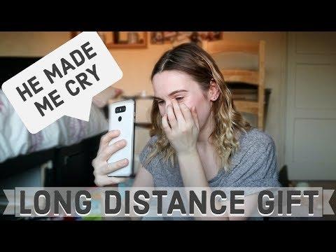 Birthday ideas for my long distance boyfriend