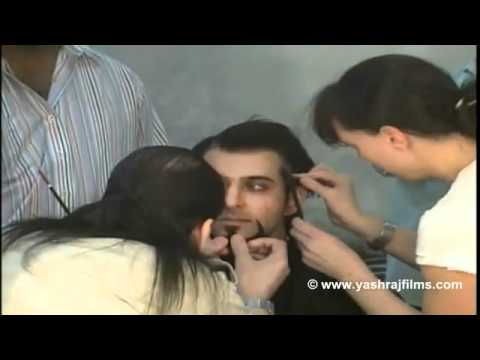 Master Of Disguise - Hrithik Makeup Sessions - DHOOM 2.flv