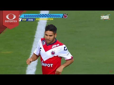 Gol de Villalva | Chivas 0 - 1 Veracruz | Clausura 2018 - J14 | Televisa Deportes