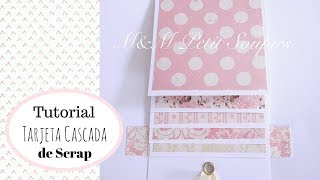 Tutorial Tarjeta cascada scrap English subtitles