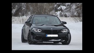 BMW M2 COMPETITION | SNOW and ICE DRIFTING | LUNGAU Austria