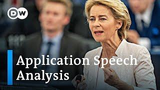 EU Commission head nominee Von der Leyen's speech: Analysis and takeaways | DW News