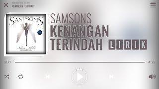 Samsons - Kenangan Terindah [Lirik]