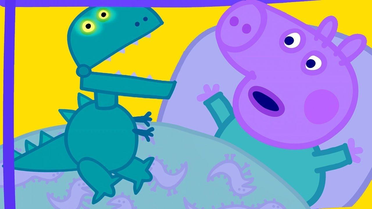 Download Peppa Pig  Official Channel |  Peppa Pig Goes Shopping to Get George a New Dinosaur