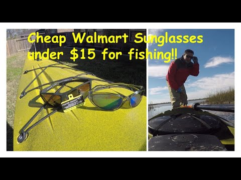 Cheap Walmart Sunglasses Under $15 For Fishing