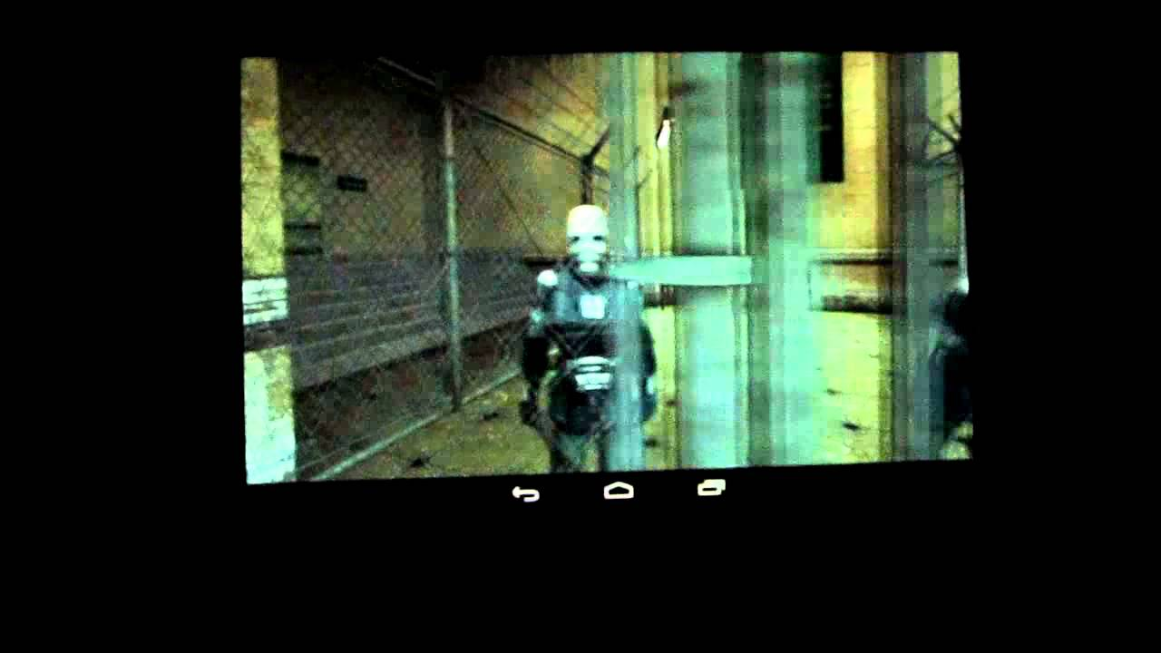 Half-life 2 on Tegra Note 7
