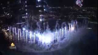 Burj Khalifa Fireworks Show and the World Greatest Dancing Fountains