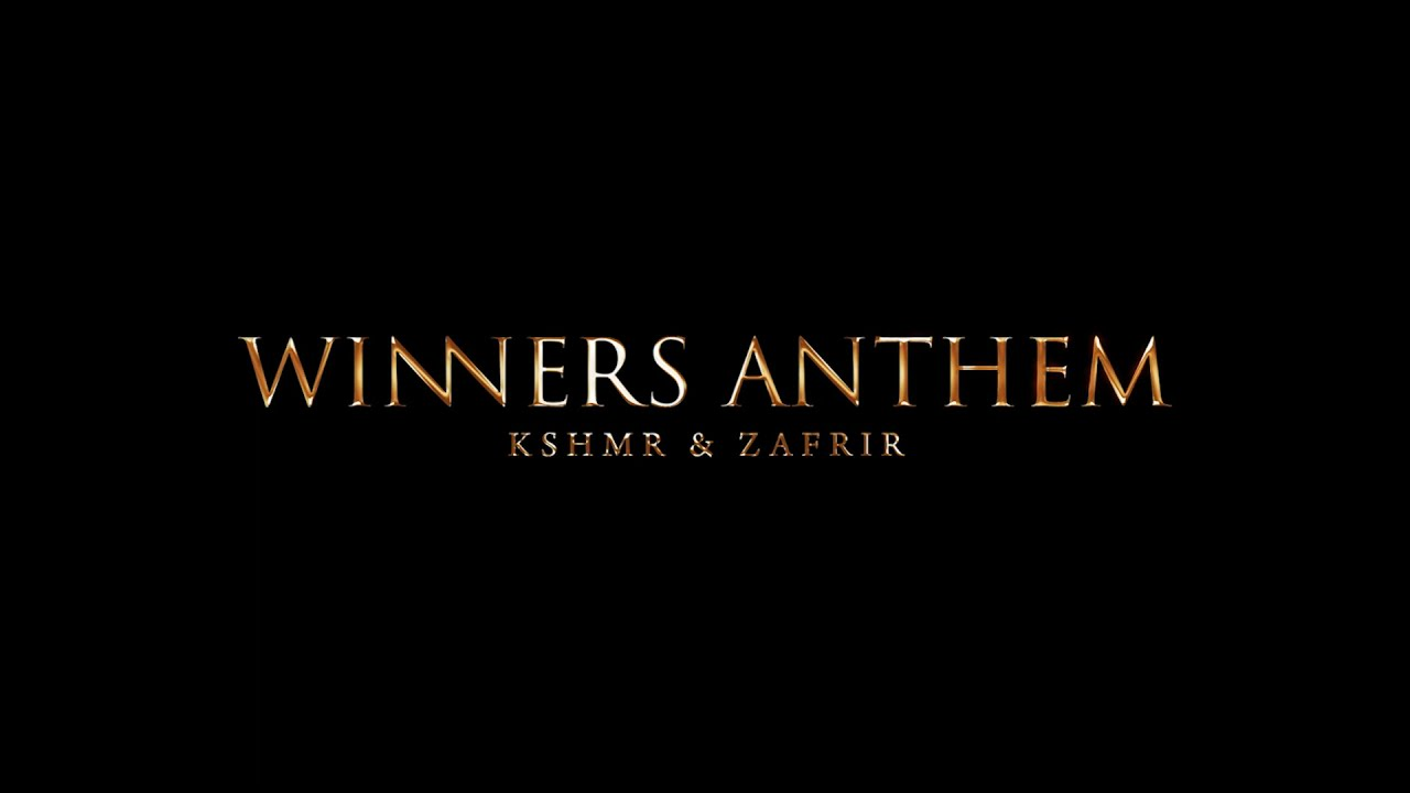 KSHMR & ZAFRIR - Winners Anthem [Available August 6]
