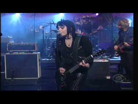 Joan Jett Foo Fighters - Bad Reputation Letterman 11-15-11