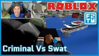 I AM A CRIMINAL MASTERMIND!!! Roblox Criminal vs Swat