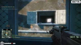 Battlefield: Bad Company 2 BETA Gameplay (PC)